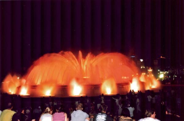 попытка фонтана