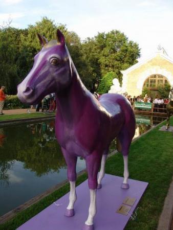 конь-фиолет