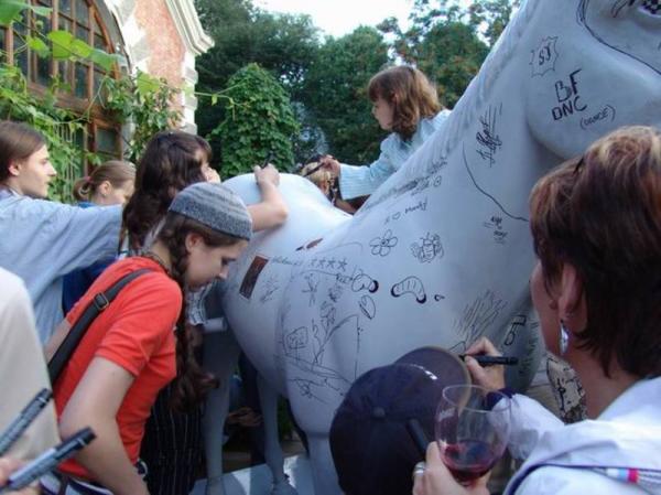 конь-автограф