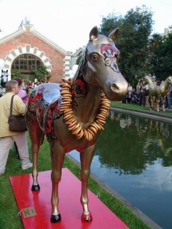 хохломской конь
