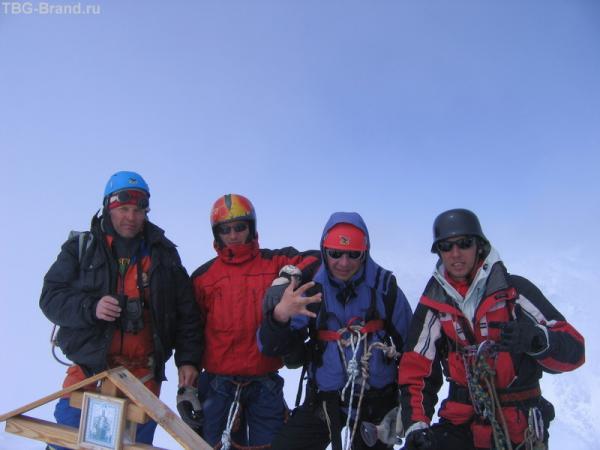 Мы - на вершине (4050м)