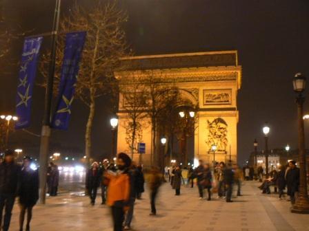Вот она, триумфальная арка.