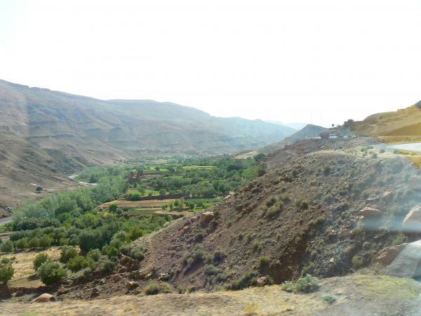 По пути из Урзазата в Марракеш