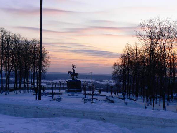 Памятник Андрею Боголюбскому