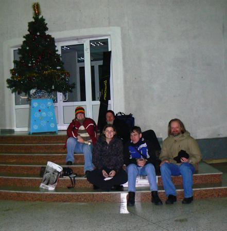 Встреча на вокзале