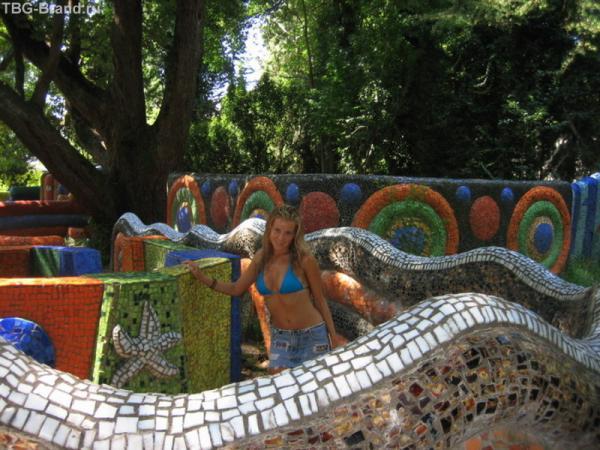 Детская площадка с мозаикой