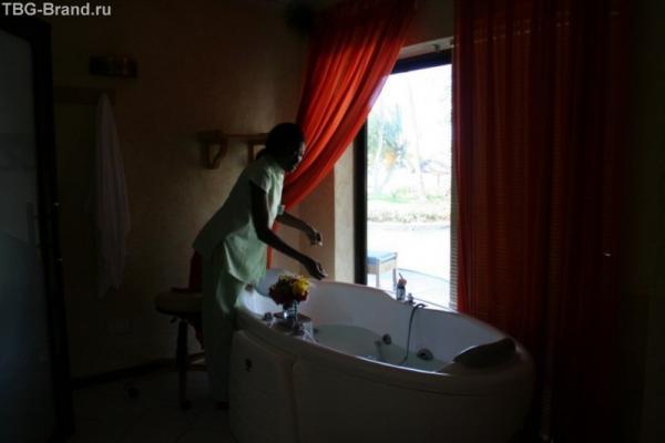 ванна в спа-центре