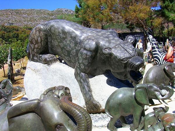 каменная пантера