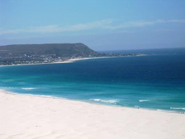белоснежные пустынные пляжи