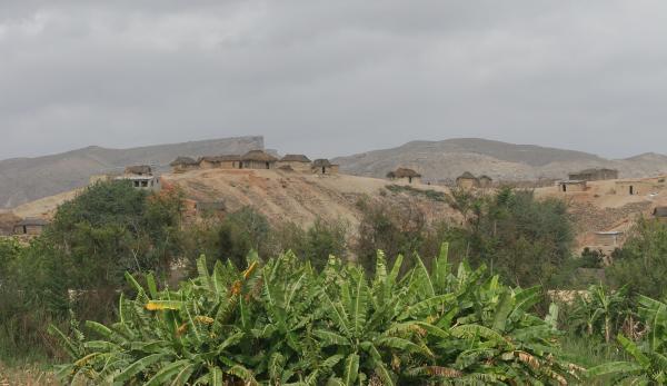 Ангольская деревенька