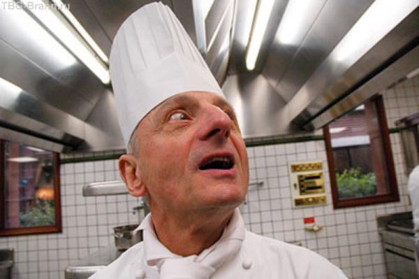Один из лучших поваров Франции Пьер Орси