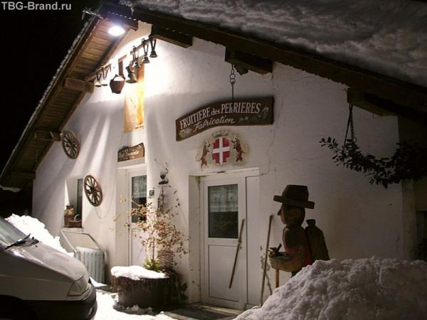 Сырный ресторан в горах около Ле Же