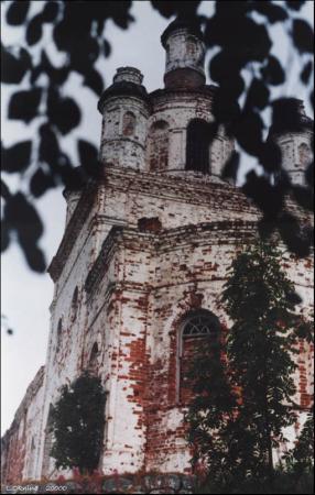 Голгофо-Распятский скит. Анзер.