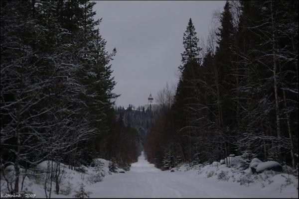 Дорога на Секирку