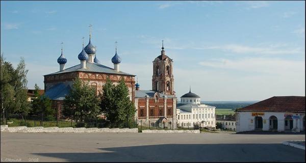 Касимов. Церковь Успения.