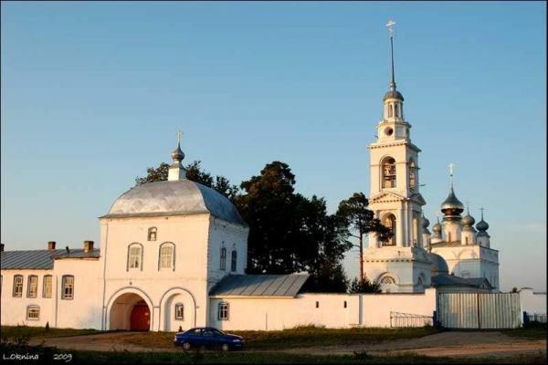 Лухский Николо-Тихонов мужской монастырь (с.Тимирязево)
