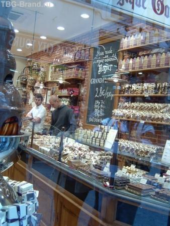 шоколадный магазин