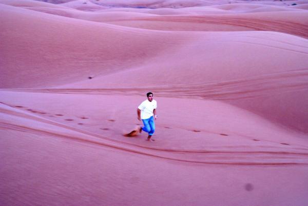 бегать по песку очень полезно