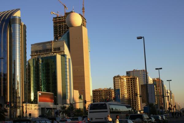пейзажи Абу-Даби