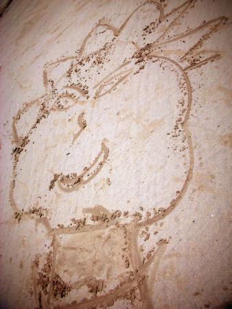 конкурс рисунка на песке