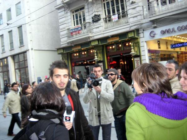 папарацци в городе Стамбуле