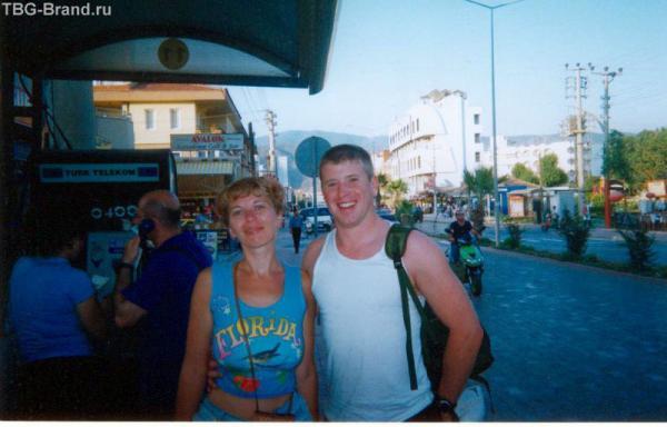 Алина и Питер в Мармарисе