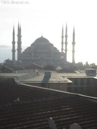 голубая мечеть на рассвете