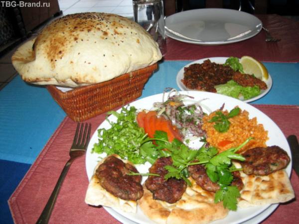 Обед в Аксарае