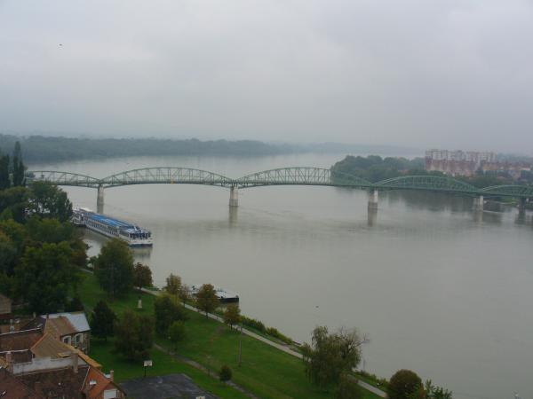 Мост Марии- Валерии, соединяющий Вегрию и Словакию.