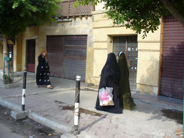 На улицах Каира.
