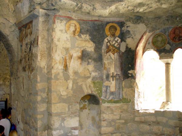 Фрески храма Николая Чудотворца в Демре