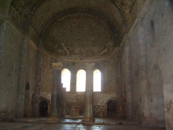 Своды центрального нефа. Храм Николая Чудотворца в Демре