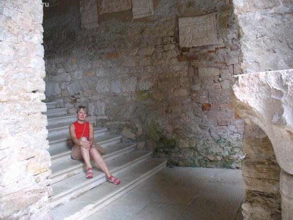 Пореч. Внутренний двор Ефразиевой базилики