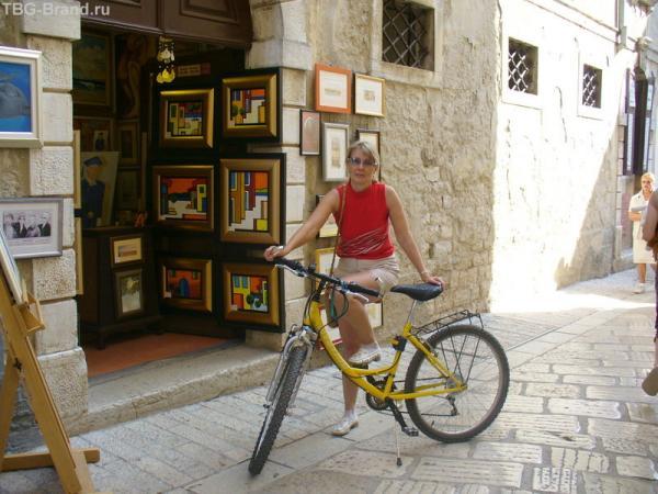 В Пореч на велосипеде.