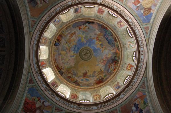 Эрег. Роспись сводов Архиепископского собора.