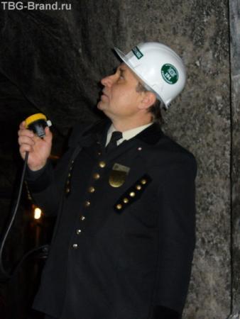 Проводник по шахте пан Янек.