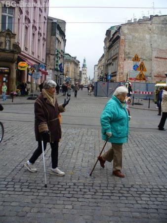 Краковские бабули.