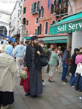 Ну где же матушка? Венеция.