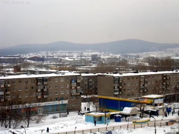 Это центр города Первоуральск