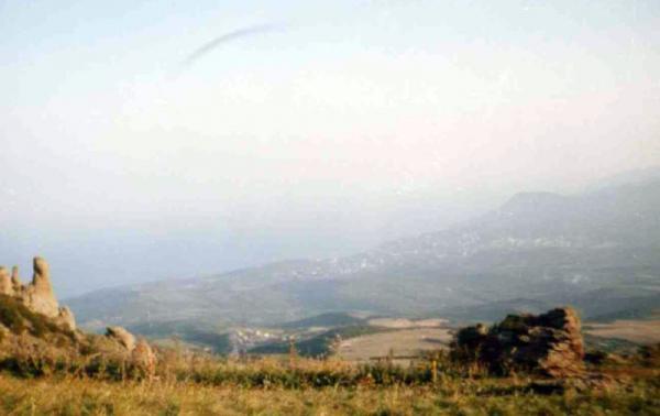 Вид на Алуштинскую долину