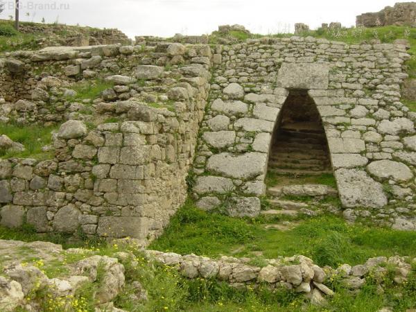 архитектура древности Угарита
