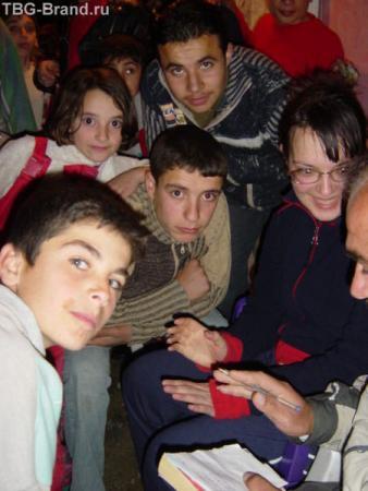 в горах Сирии
