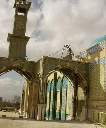 фрагмент мечети в Баальбеке