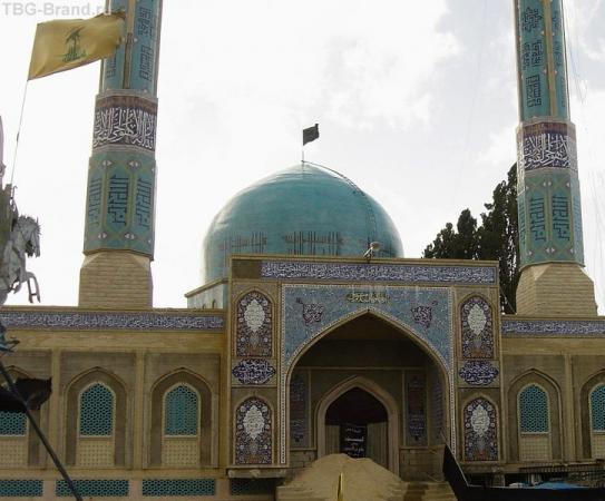 голубая мечеть в Баальбеке