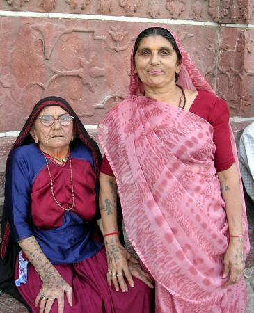 Дочки-матери (Тадж-Махал. Индия)