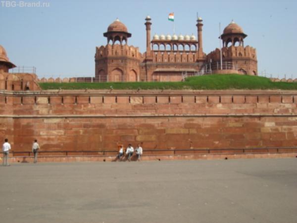 Красный форт,Дели