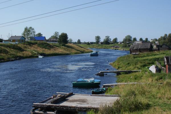 Беломорская деревня.