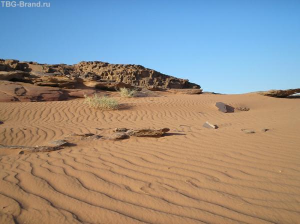 Вади Рам. Марсианские пейзажи