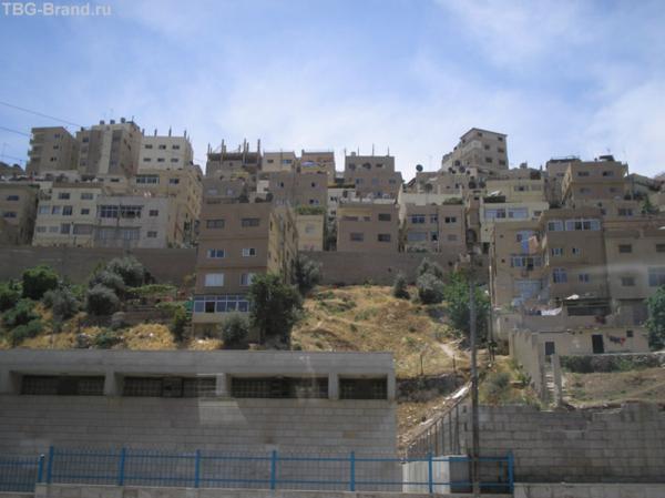 Амман. Четырехэтажные дома