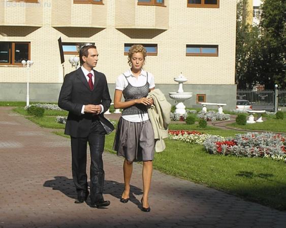 Петр Красилов и Евгения Лоза